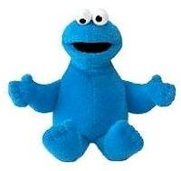Gund cookie monster beanbag