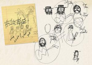 Beatles jim sketches