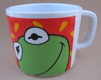 Zak designs 1993 kermit plastic cup