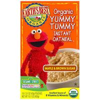 Maple & Brown Sugar Organic Yummy Tummy Instant Oatmeal