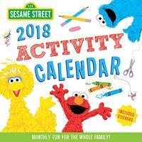 Sesame Street 2018 Activity Calendar