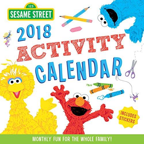 Kids Calendar With Activity Stickers : Sesame street activity calendar muppet wiki
