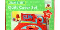 Sesame Street bedding quilt covers