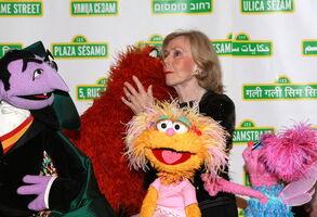 Kiss Joan Ganz Cooney May 29 2013
