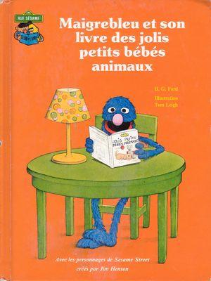File:Maigrebleu et son livre des jolis petits bébés animaux.jpg