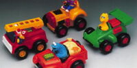 Sesame Street Gyro Vehicles