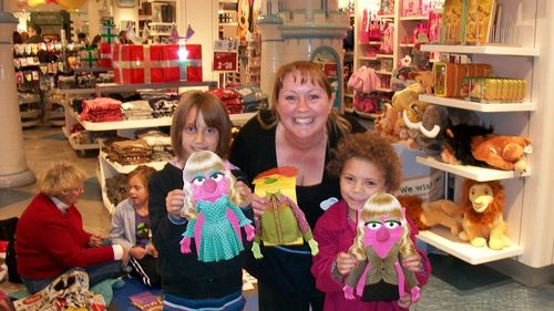 File:Disney Store Muppets craft event.jpg