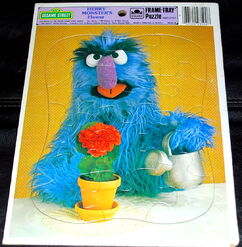 Herry monsters flower puzzle