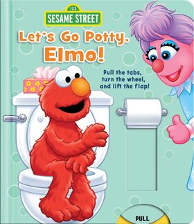 Let's go potty elmo