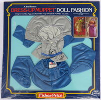 Fisher-price 1981 miss piggy dress up muppet doll 2