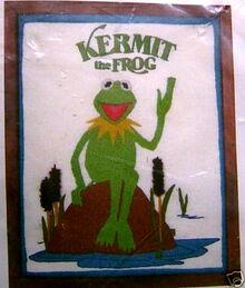 Muppet crewel picture kits (Columbia-Minerva)