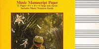 Muppet music manuscript paper