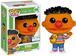Funko-POP Ernie flocked barnes & noble