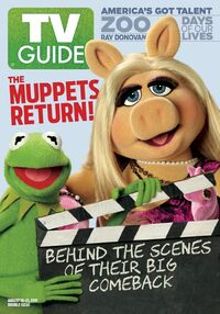 TV Guide 2015 cover The Muppet ABC