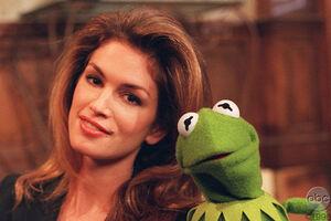 Cindy Crawford Muppets Tonight