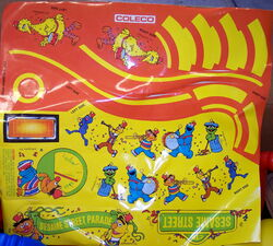 Coleco 1985 big wheel power cycle parade sesame 2