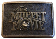 Muppet movie belt buckle