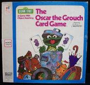 Milton bradley 1976 oscar the grouch card game 1