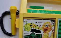 Daylin 1986 big bird cassette player 3