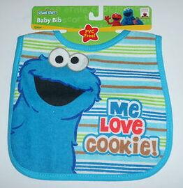 Hamco cookie monster bib