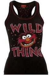 Asda cami top animal wild thing