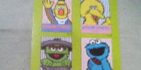 Sesame Street Cassette Index Cards