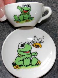 Enesco 1983 muppet babies tea set 5