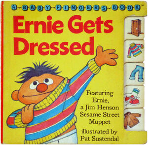 Ernie gets dressed 1