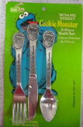 Demand marketing 1977 cookie monster utensils
