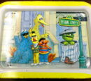 Sesame Street TV tray