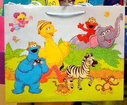 American greetings 2010 gift bag jungle