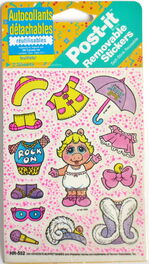 Post-it 1990 muppet babies stickers 2
