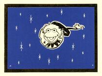 KermitBlack&BlueXmasCard