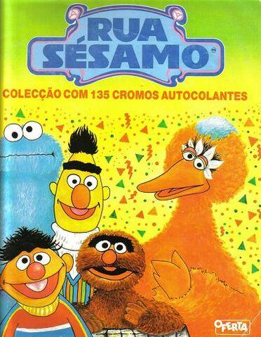 File:Rua Sesamo sticker book.JPG