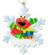 Elmo snowflake ornament