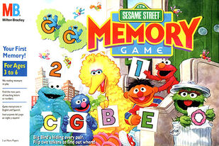Sesame Street Memory Game