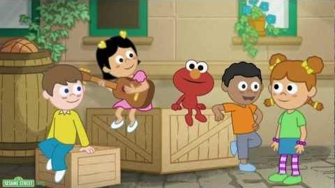 "Sesame Street ""Fun Fun Elmo,"" A Mandarin Language Learning Program - Episode 2"
