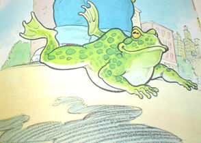 Louise (Betty Lou's frog)