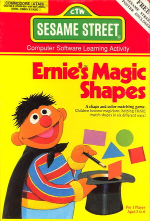 Hi tech 1987 ernie's magic shapes 1