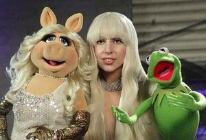 Gaga-Piggy-Kermit