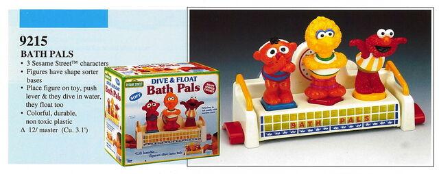 File:Illco 1992 bath toys dive & float bath pals.jpg