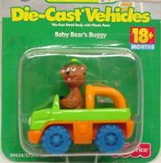 Tyco die-cast car baby bear's buggy