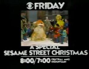 CBS Sesame Street Christmas Special Promo