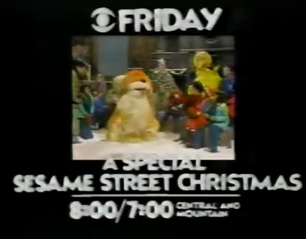 File:CBS Sesame Street Christmas Special Promo.JPG