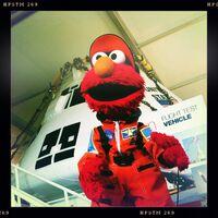 Elmo NASA flight suit