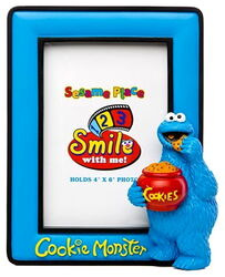 Sesame place frame cookie
