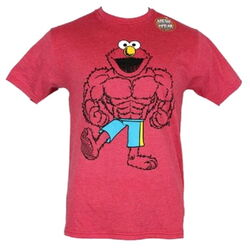 Mad engine 2014 elmo muscle shirt