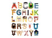 Muppet Alphabet by Mike Boon