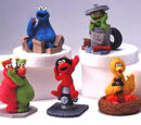 Sesame Street figures (Sony)