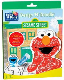 Take 'n' play sesame street design 'n' doodle